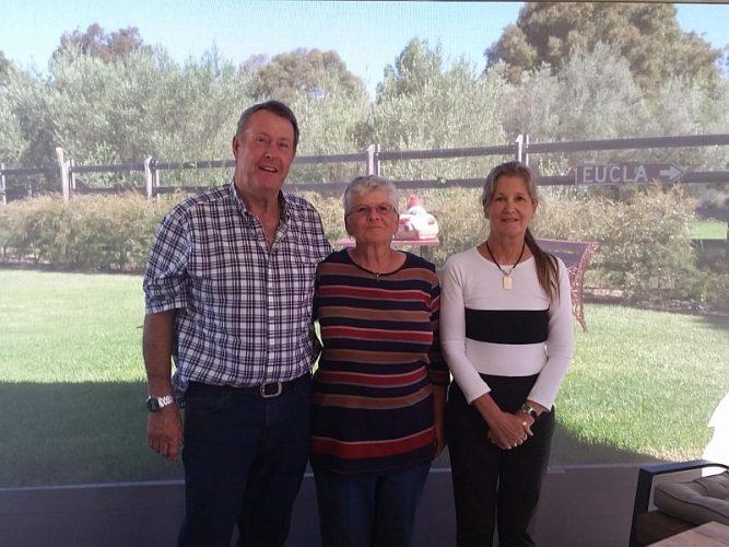 Alan, Glenda & Marion